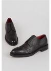 CORNELIANI ID Grained Leather Derby Shoes
