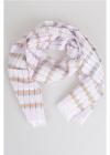 154x30cm Linen and Silk Foulard