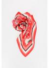 90x90cm Printed Silk Foulard