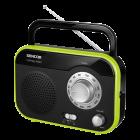 Aparat radio SRD210BGN portabil 1W RMS negru verde