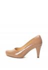 Pantofi de piele lacuita cu toc inalt Dalia Rose