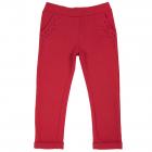 Pantalon lung copii Chicco rosu 98