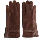 Nappa And Suede Gloves