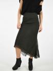 Silk CALF LENGHT Long Skirt