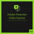 Adobe Presenter Video Express for Teams 1 user Subscriptie 1