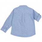 Camasa copii Chicco maneca lunga albastru cu roz 128