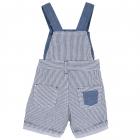 Pantalon scurt copii Chicco albastru cu alb 62