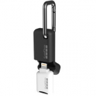 Cititor carduri Quik Key iPhone iPad Mobile microSD Card Reader