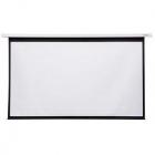 Ecran de proiectie electric pe perete 265 x 149 cm format 16 9 alb mat