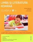 Romana Clasa 5 Caiet de lucru structurat pe domenii Ramona Raducanu La