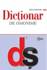 Dictionar de omonime Vasile Bahnaru