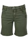 Pantaloni scurti Object Nastasia Dark Green