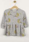 Pijama ZARA Unicorn Grey