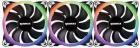 Ventilator radiator RAIDMAX NV R120FBR3 RGB 120mm Three Fan Pack