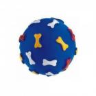 Jucarie minge cu oase Dog Toys 11 cm