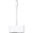 Cablu de date Lightning to VGA adapter white