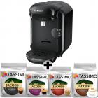 Pachet Espressor 12 cutii capsule Bosch Tassimo Vivy II TAS1402 1300w