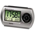 Radio cu ceas Hama Travel RC300 argintiu