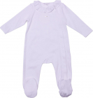 White Girl Romper With Two Bibs