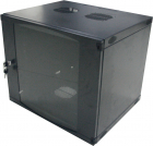 Cabinet metalic Logilink W12F64B 12U Wall Mount 595 x 540 Glass door N