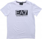 Ea7 Printed T Shirt In White