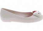 Mel Space Love Ballerinas In White