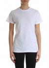 White T Shirt With Spotlight Rhinestones