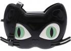 Mini Melissa Cat Crossbody Bag In Black