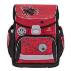 Ghiozdan Ergonomic Mini Fit Spiders Red and Black