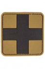 COYOTE PVC 3D FIRST AID PATCH W HOOK LOOP CLOS LG