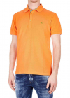 ETRO Orange Piquet Polo With Logo