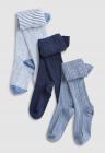Set de dresuri din tricot fin 3 perechi