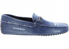 Gommino Driving Shoes In Blue Denim