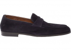 Pennybar Loafers In Blue Suede