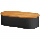 Cutie pentru paine KingHoff lungime 43 5 cm negru
