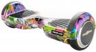 FreeWheel Hoverboard Junior Lite Graffiti Purple