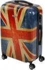 Troler Kring Union Jack 75 cm albastru