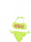 Monday Bikini In Neon Yellow