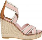 Frieda Wedge Sandals In Pink
