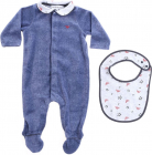 Set With Romper And Bib