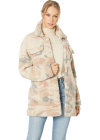 Oversized Long Sherpa Trucker