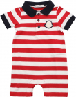 Red And White Striped Rompersuit