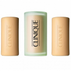 Tratament facial Clinique Three Little Soaps For Dry Combination Skin