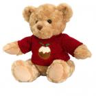 Ursulet de Plus Traditional cu Plover 25 cm