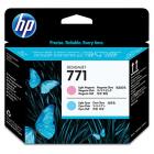 HP Printhead 771 Light Magenta Light Cyan