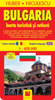 Bulgaria Harta turistica si rutiera