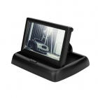 Monitor auto LCD Car Vision MM 01 4 3 rabatabil 2 intrari video rezolu