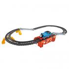 Set 2 in 1 Locomotiva Motorizata cu Sine Thomas and Friends Trackmaste