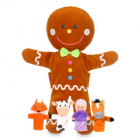 Set de papusi si marionete Omul de turta dulce Gingerbread Man Hand an