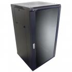 Cabinet metalic Linkbasic NCB22 22U Stand alone 600 x 800 Glass door
